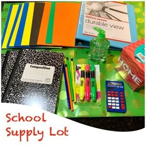 School Supply Bundle Lot